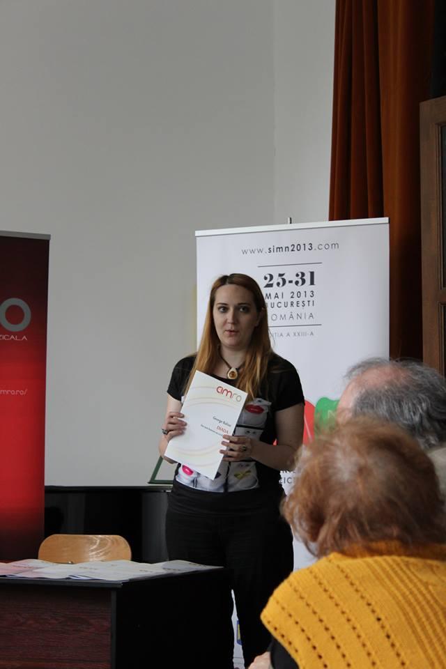 Diana Rotaru, CIMRO coordinator